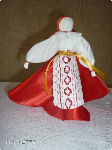 """Куклы из ниток """"Неразлучники"""" фото 5"""