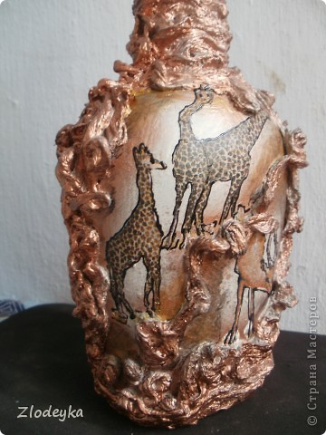Африка на бутылке фото 5