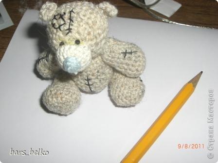 крючком Шитьё Мишка Тедди