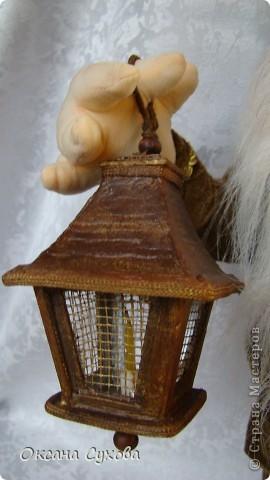 Мой гномик, который освещает себе и другим путь-дорогу. фото 8