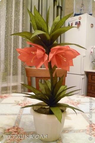 Чудо-Цветок (из гофробумаги) фото 1
