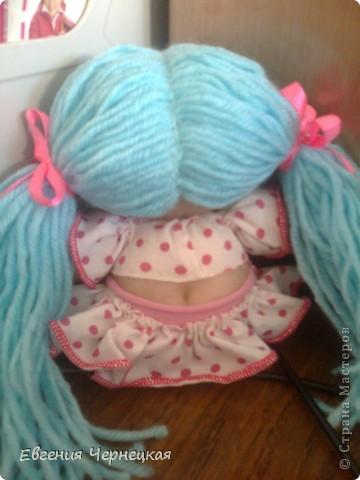 Моя первая куколка из носочка! фото 2