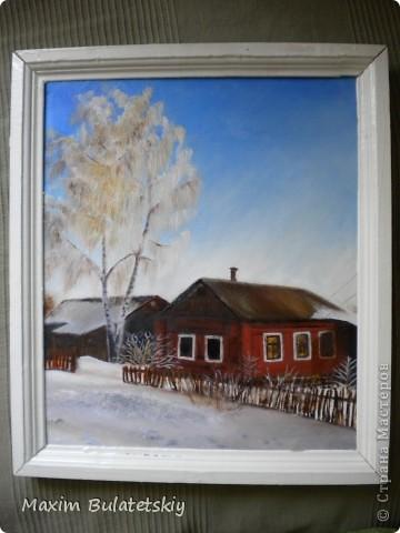 Русская Зима со всеми ее красотами