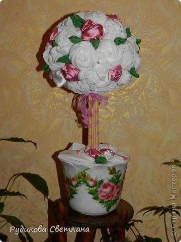 Дерево заказали для подарка на годовщину свадьбы. фото 1