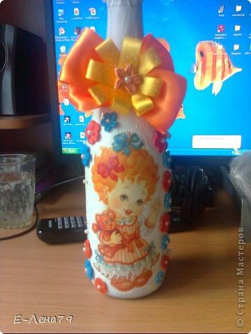 Вот такой подарочек, сделала друзьям на день рождения их доченьки. фото 1