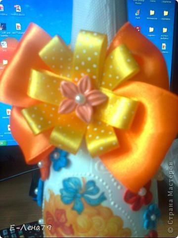 Вот такой подарочек, сделала друзьям на день рождения их доченьки. фото 3