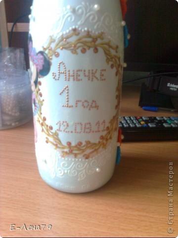 Вот такой подарочек, сделала друзьям на день рождения их доченьки. фото 5