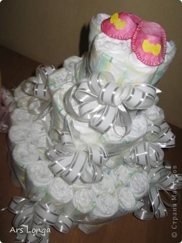 Здравствуйте, жители страны мастеров! :) Вот такой подарок мы с мужем смастерили для наших друзей, у которых родилась доченька! фото 3