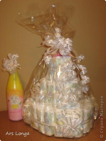 Здравствуйте, жители страны мастеров! :) Вот такой подарок мы с мужем смастерили для наших друзей, у которых родилась доченька! фото 4