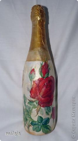 Делала бутылочки на заказ, на разные свадьбы по 1 бутылочке. фото 7