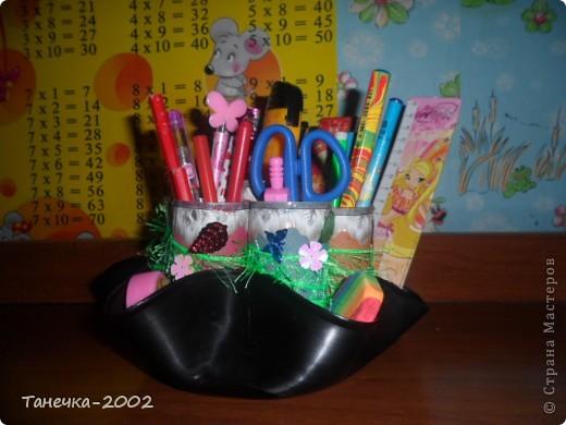 Вот такую карандашницу я сделала сегодня к началу учебного года. Большое спасибо Ольге Ольшак за идею и понятный МК. фото 4