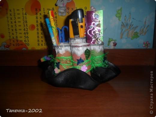 Вот такую карандашницу я сделала сегодня к началу учебного года. Большое спасибо Ольге Ольшак за идею и понятный МК. фото 5