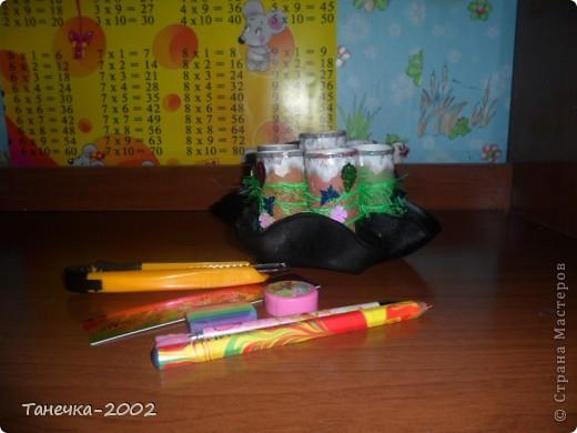 Вот такую карандашницу я сделала сегодня к началу учебного года. Большое спасибо Ольге Ольшак за идею и понятный МК. фото 2