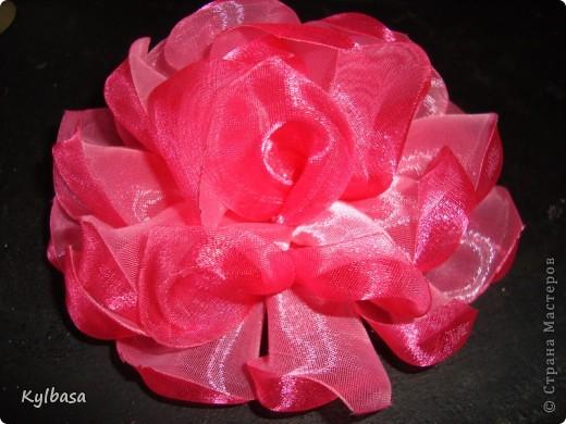 Как сделать своими руками цветы из капроновой ленты