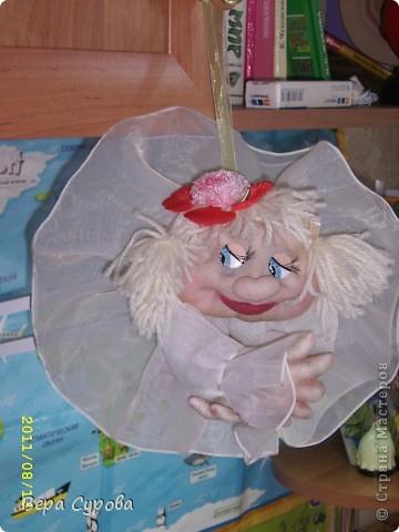 Клава - моя первая кукла-попик фото 8