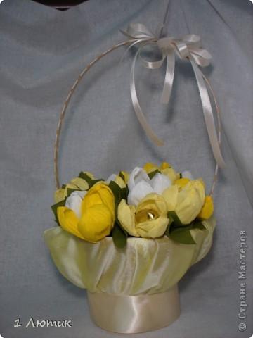 Букет сладких цветов фото 1