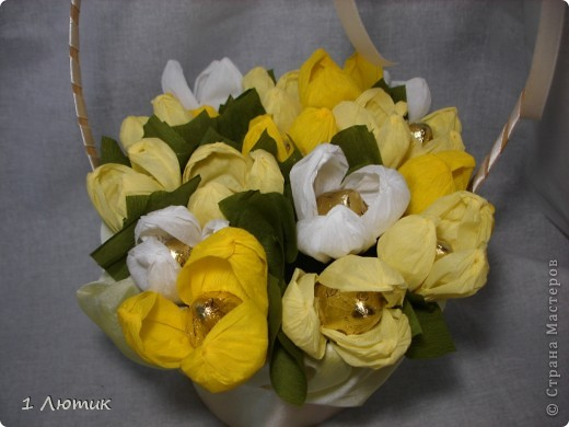 Букет сладких цветов фото 2