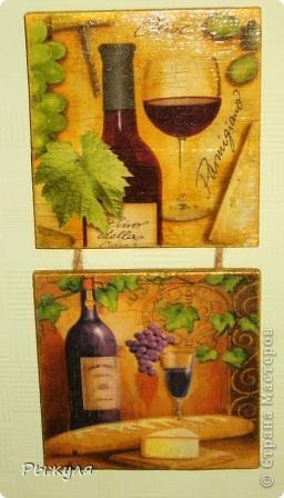 Фанера, салфетка, акриловые краски, лак фото 1