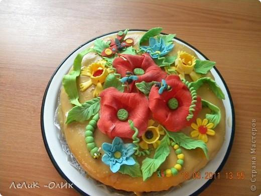 Этот торт я испекла нашей Бабуле на 87- летие. фото 2