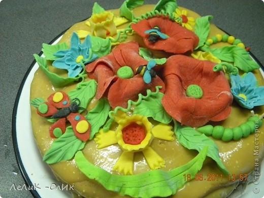 Этот торт я испекла нашей Бабуле на 87- летие. фото 3