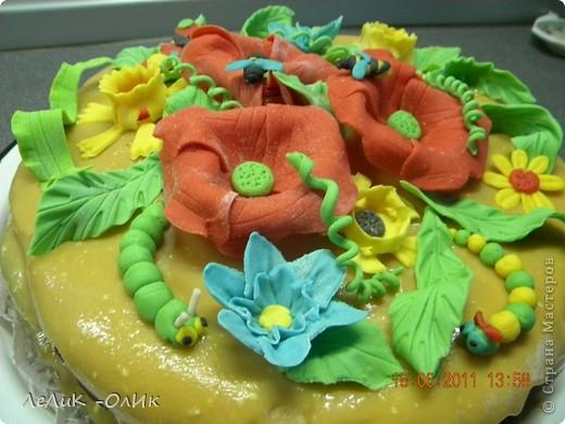 Этот торт я испекла нашей Бабуле на 87- летие. фото 4