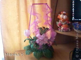 кораблик цветов маме на день матери фото 3