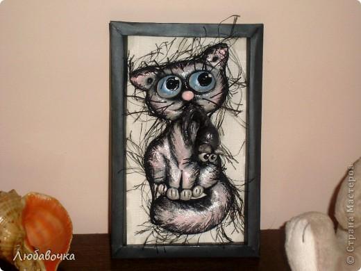 Котёнок с мышкой) фото 4