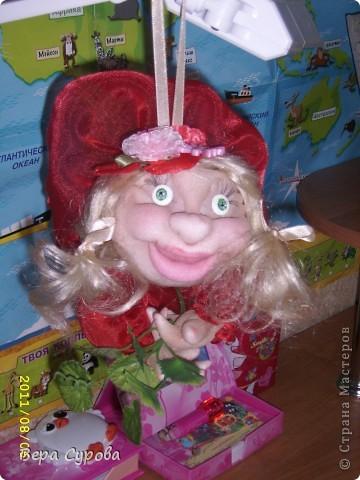 Клава - моя первая кукла-попик фото 9