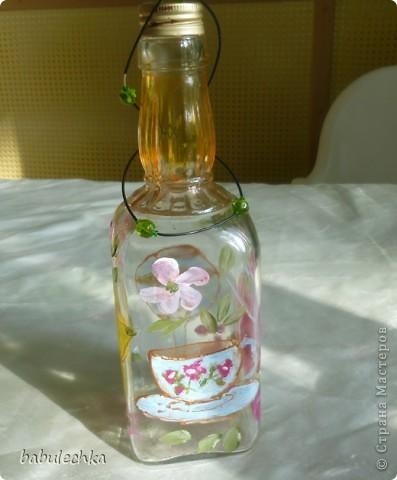 Бутылочка  очень яркая ,солнечная. фото 10