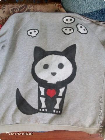Рисунки на футболках =) фото 1