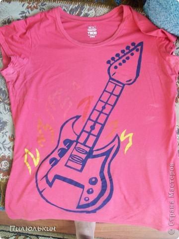 Рисунки на футболках =) фото 2