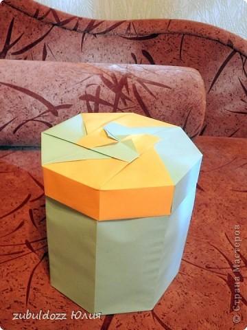 Коробочка для фрактала (Роната, спасибо за замечательный МК) фото 2