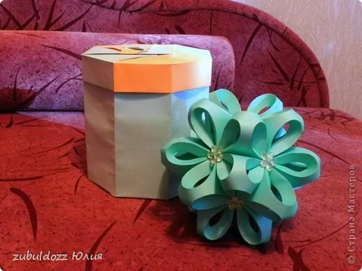 Коробочка для фрактала (Роната, спасибо за замечательный МК) фото 3