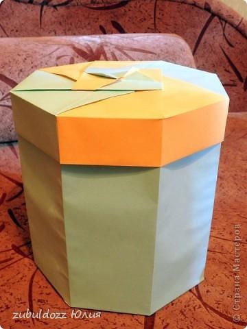 Коробочка для фрактала (Роната, спасибо за замечательный МК) фото 4