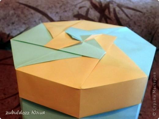 Коробочка для фрактала (Роната, спасибо за замечательный МК) фото 5