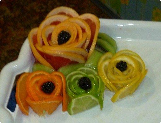 Вот такая фруктовая нарезочка получилась на дочуркин ДР. фото 14