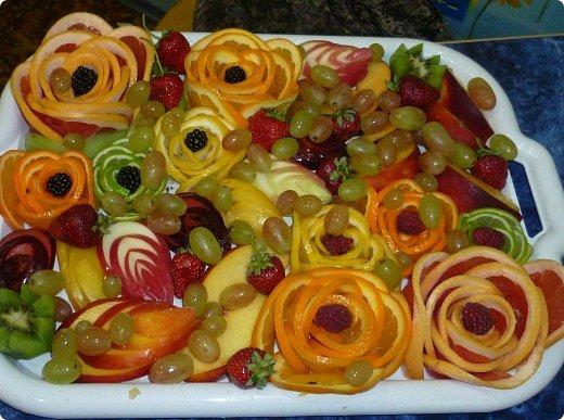 Вот такая фруктовая нарезочка получилась на дочуркин ДР. фото 26