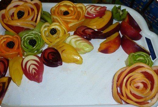Вот такая фруктовая нарезочка получилась на дочуркин ДР. фото 24