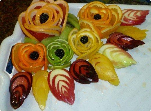Вот такая фруктовая нарезочка получилась на дочуркин ДР. фото 23