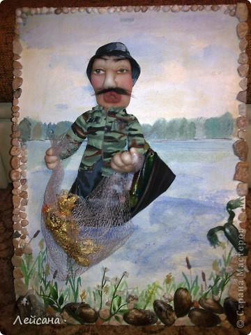 Заказали на день рождение, что-нибудь интересное, сказали, что именинник любит рыбалку  фото 1
