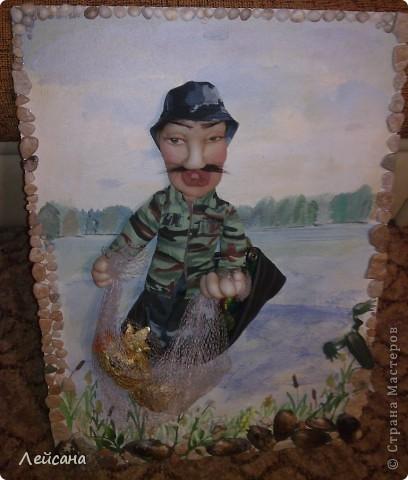 Заказали на день рождение, что-нибудь интересное, сказали, что именинник любит рыбалку  фото 5