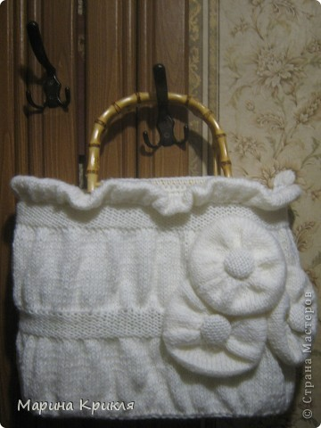 Белая сумка фото 1