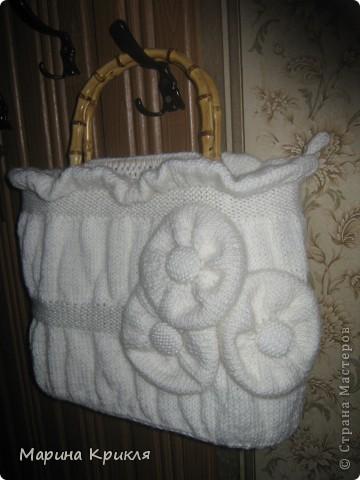 Белая сумка фото 2