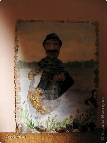 Заказали на день рождение, что-нибудь интересное, сказали, что именинник любит рыбалку  фото 4