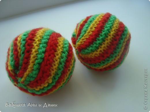 Вязанный мячик. фото 2