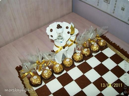 Вот такие сладкие шахматы у меня получились.  фото 2