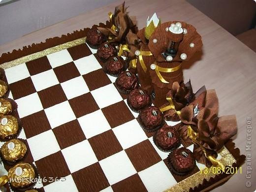 Вот такие сладкие шахматы у меня получились.  фото 3