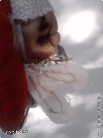 Это мой первый опыт в шитье кукол из капроновых колготок.Швейной машинки у меня нет-все сшито руками. фото 7