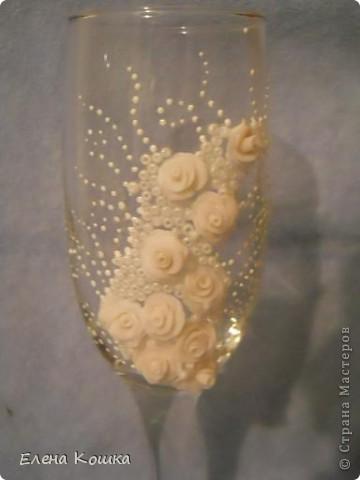 Мои первые свадебные бокалы фото 3