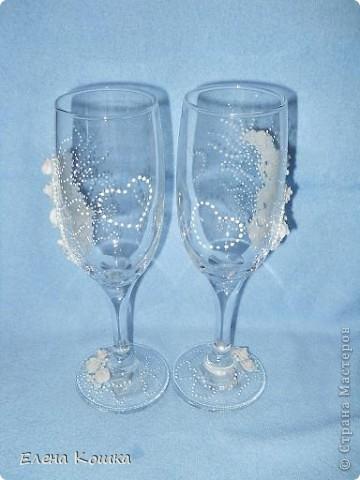 Мои первые свадебные бокалы фото 5